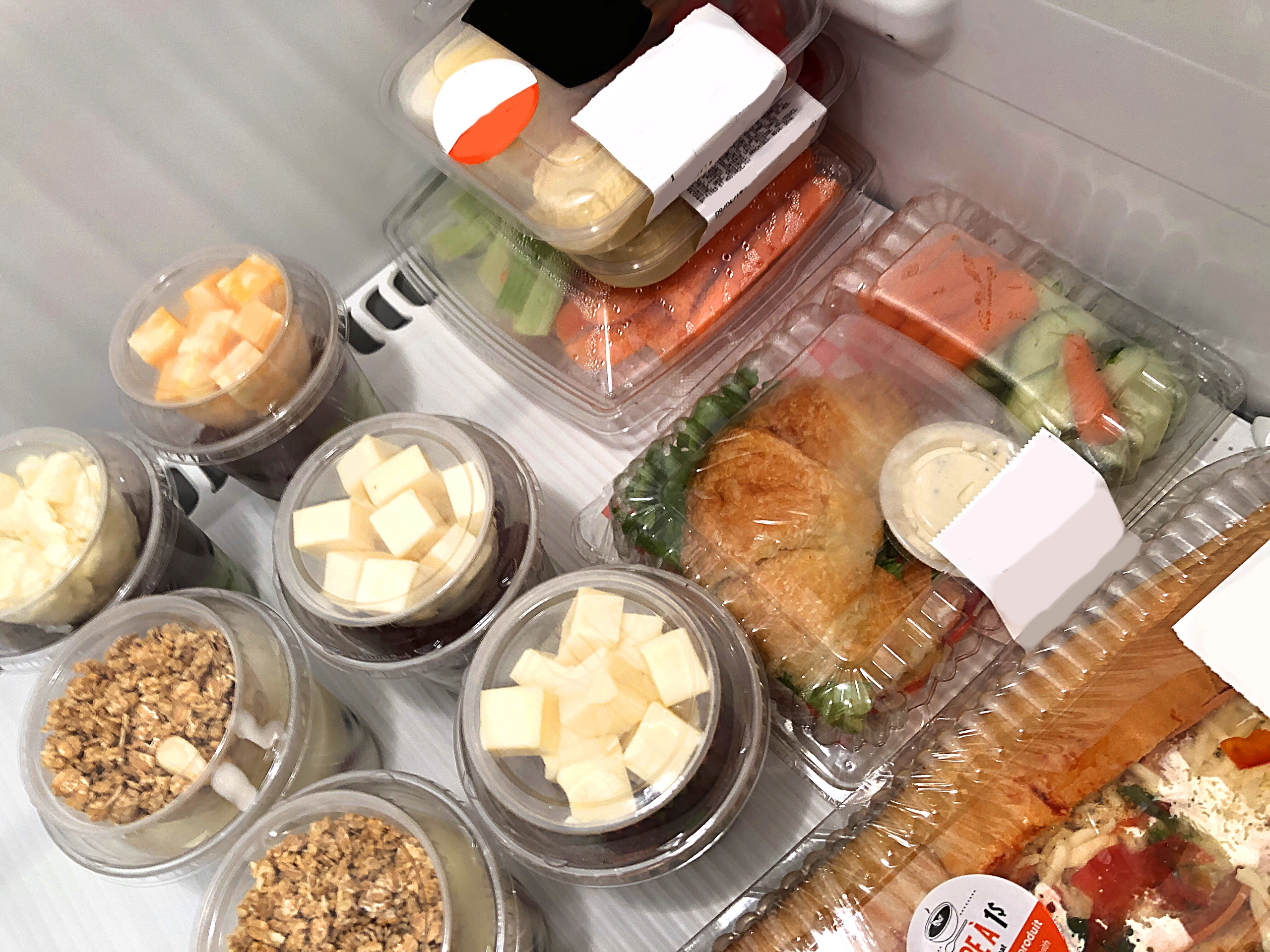Healthy vending machine options from Breaktime Beverage