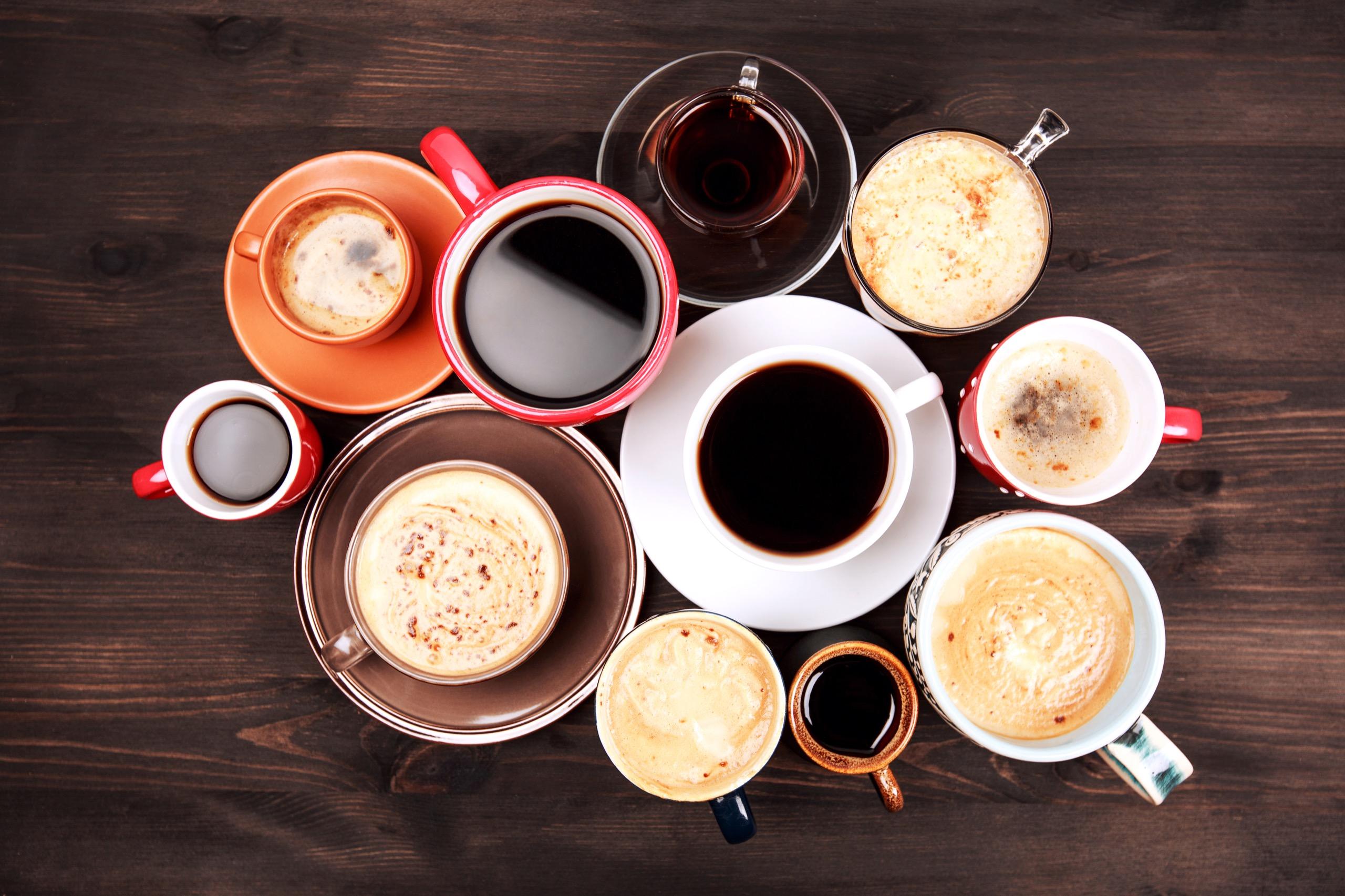 Hot beverage vending selection offered by Breaktime Beverage