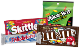Candy selection for vending machines from Breaktime Beverage