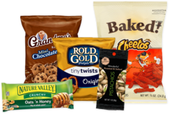 Snack vending options from Breaktime Beverage